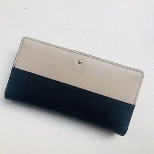 Kate Spade Grand Street Colorblock Leather Wallet